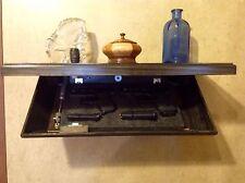 """24"""" Hidden Tactical Wall Shelf w/ Secret Compartment valuables, guns Concealment"""