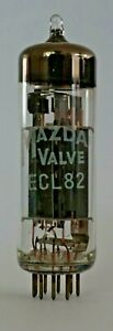 Mazda Foreign ECL82 Valve/Tube New Old Stock - 1 Piece B (V12)