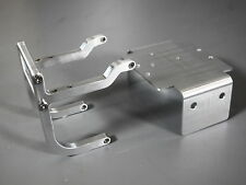 Aluminum Axle Bumper Lower Chassis Plate Bracket Tamiya 1/10 Bullhead Clodbuster
