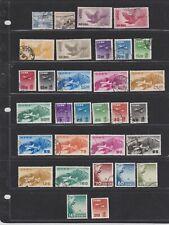 JAPAN AIR MAIL ISSUES 1929 - 1961