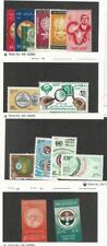 Egypt, Postage Stamp, #548-52, 554, B17-8 Mint Hinged, 1108-9, 1170-3 NH