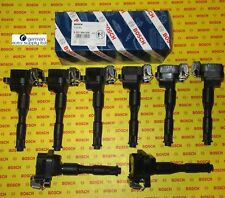 BMW 8 Piece Ignition Coil Set - BOSCH - 0221504029, 00143 - NEW OEM