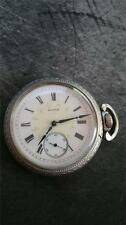 VINTAGE 16 SIZE ELGIN POCKETWATCH GRADE 151 FANCY DIAL!