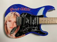 Great White Jack Russell Autograph Signed Guitar Stratocaster Epperson JSA