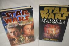 STAR WARS Hardbacks episode I & II