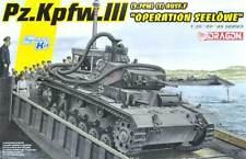 DRAGON 1:35  SMART KIT CARRO ARMATO PZ.KPFW.III OPERATION SEELOWE ART 6877