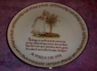 Vintage Mothers Day 1978 Holly Hobbie Collectors Commemorative Edition Plate R