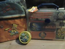 Simpsons Set Back to School Backpack, Stationery, Colour Putty Original Unopened