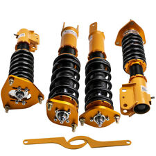 Coilovers for Mitsubishi Lancer EVO 7 8 9 CT9A 24 ways Adj.Damper +Camber plate