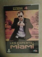 21906//LES EXPERTS MIAMI INTEGRALE SAISON 4  /25 EPISODES NEUF SANS BLISTER