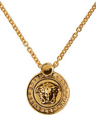 NEW Versace Gold Medusa Necklace
