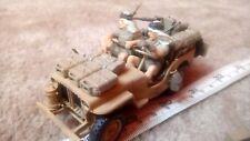 Sas LRDG Willys Jeep avec figures 1/35 PRO BUILT/Made spares/repair