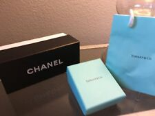 Chanel Sunglasses Box Tiffany Small Jewelry Box & Bag Storage Lot