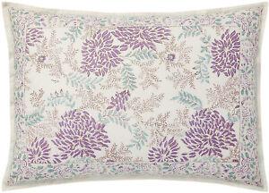RALPH LAUREN Alessandra Ardsley Floral KING SHAM Cream Purple Multi NEW $185