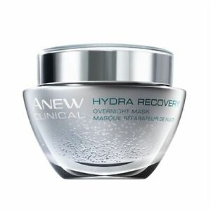Avon 2 x SAMPLES - Anew Clinical Hydra recovery overnight m@sk - New
