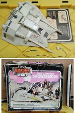 Vintage Star Wars Empire Strikes Back SNOWSPEEDER 100% Complete With Box!