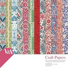"""Dovecraft ~ 8x8"""" Paper Pack ~ 36 150gsm  sheets ~ V & A"""