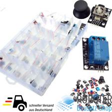 Starter Kit 37 Sensoren im Kunststoffkasten Arduino Raspberry Pi Microcontroller