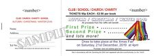 1000 Full Colour Prize Draw Tickets - Raffle Tickets