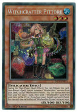 INCH-EN015 Witchcrafter Pittore Secret Rare 1st Edition YuGiOh Card