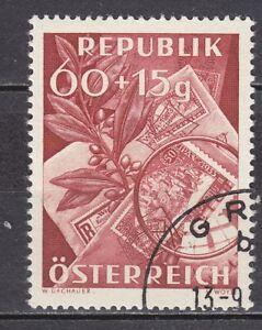 AUSTRIA used 1949 SC# SEMI-POSTAL STAMPS - B 268  Stamp Day