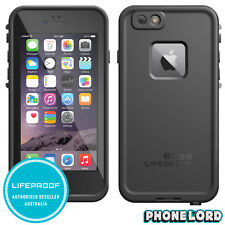 Genuine LifeProof Fre Frē Case Cover for iPhone 6 6s Black Waterproof Tough