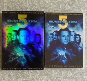 Babylon 5 Complete Second Season 2 DVD 6-Disc Boxset Clean TESTED Series Five