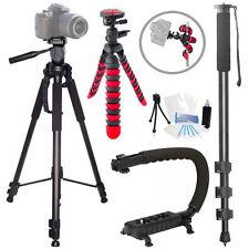 Action Tripod Holiday Bundle for Canon 700D 1000D M SL1 T1i T2i T3 T3i T4i T5i