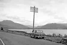 PHOTO  ROSS 1957 NE ON A896 STRATHCARRON - SHIELDAIG - KINLOCHEWE ON LOCH CARRON