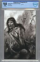VENGEANCE OF VAMPIRELLA #3 CBCS 9.8 Parrillo B&W VIRGIN Variant (NOT CGC)