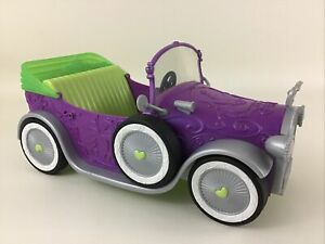Disney Princess And The Frog Tiana's Car Purple Royal Vehicle 2011 Toy Mattel