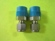 "Swagelok 1/4"" x 3/8"" NPT Adapter -- SS-400-1-6 -- (Lot of 2) New"