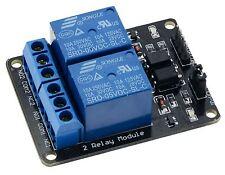 5v 2-channel Relé Tabla Módulo para Arduino Raspberry Pi Brazos AVR DSP PIC
