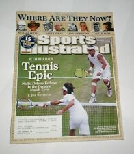 2008 Sports Illustrated RAFAEL NADAL beats ROGER FEDERER in greatest match !