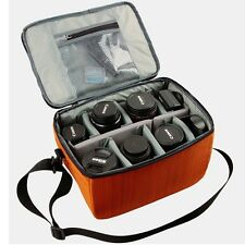 DSLR SLR Lens Camera Insert Partition Flexible Folding Padded Bag Dividers Case