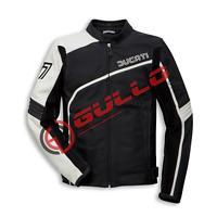 Men Ducati motorcycle rider leather racing jacket GE-03-2019 (US 38 - 48)
