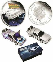 Perth Mint Back to the Future DeLorean 1oz Silver Proof Coin  NEW Collectable
