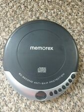 Memorex Md6461 Portable Cd Player 60 Second Anti Skip Protection Tested Working