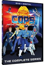C.O.P.S COPS Complete Animated TV Series (All 65 episodes) NEW 5-DISC DVD SET