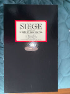Siege, A War Game Of Skill For 2. 1st Ed Alcazar Games Numbered 0122 NIB RARE
