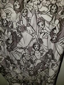 EUC DISNEY TORRID Disney Princesses LEGGINGS SIZE 5