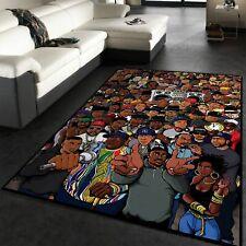 Rug for living room Rappers Hip Hop Floor Rugs Floor Decor