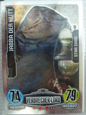 Force Attax Star Wars 1 (2012, blau), Jabba Der Hutt (212) Star-Karten