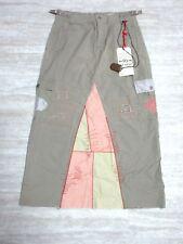 NEW Da-Nang Surplus Women's Skirt Knee Embroidered GINGER RSR241930 Sz: X-SMALL