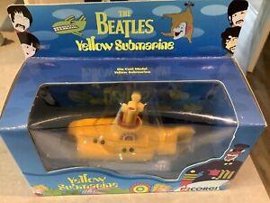 Corgi CC05801 The Beatles Yellow Submarine Diecast Model - Pristine