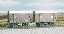 OO wagon kit - SR/BR 12t. Box Van, even planked - Ratio 594