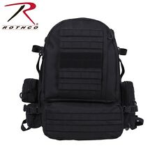 Black Tactical Extended Deployment MOLLE Military Backpack 26410 Rothco