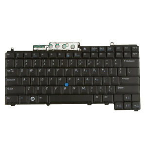 Black US English Layout Keyboard for Dell Latitude D620 D630 D830 Precision