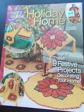 Holiday Home Crochet Book Annie's Attic 874014 Crochet 'n' Weave