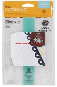 "CRICUT CUTTLEBUG Anne Griffin 5""x7"" Embossing Folder/Border Set REGAL BRAID"